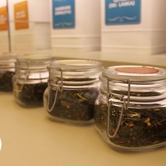 Algunos de sus increíbles tés.