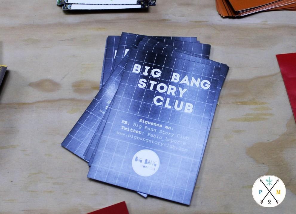 Big Ban Story Club es el curso que imparte Pablo.