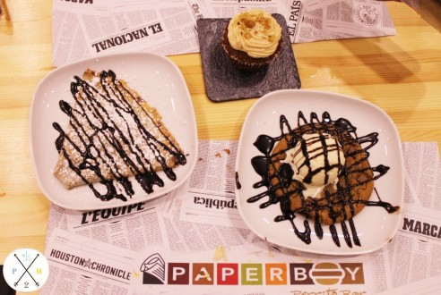 Los exquisitos postres de Paperboy.