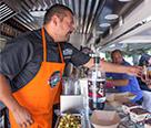 """Javier en el Concurso """"Cocineros al volante"""""""