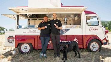 La Vermuneta fue el food truck en el que concursaron.