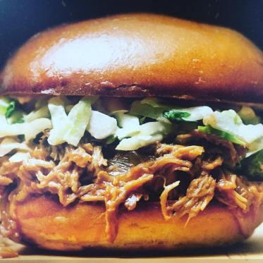 El bocadillo estrella del food truck de Javier.