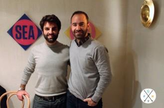 Fernando (izq.) y Jorge (Derecha) son sus fundadores.