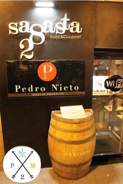 Pedro Nieto es uno de los proveedores del local.