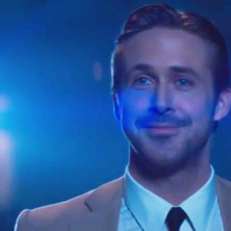 El actor Ryan Gosling en el papel de Sebastián.