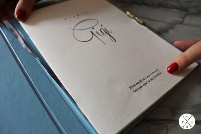 """La carta diario de """"Gigi"""""""